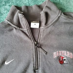 Harvard University Nike Quarter Zip Sweater